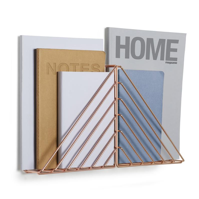 Decorative Wall Shelf In Copper