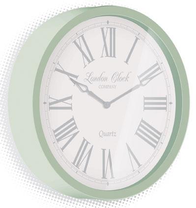 Traditional design wall clocks for Green wall clocks uk