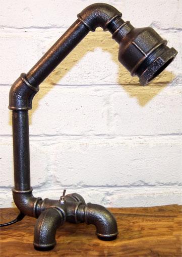 Funky Desk Lamp urban living pipework lamps