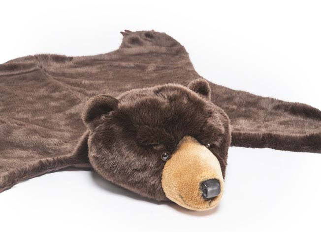 Soft Cuddly Bear Rug And Blanket