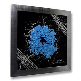 Framed Fused Glass Wall Art