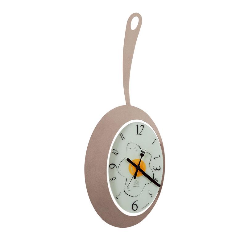Fried Egg Arti Amp Mestieri Clock
