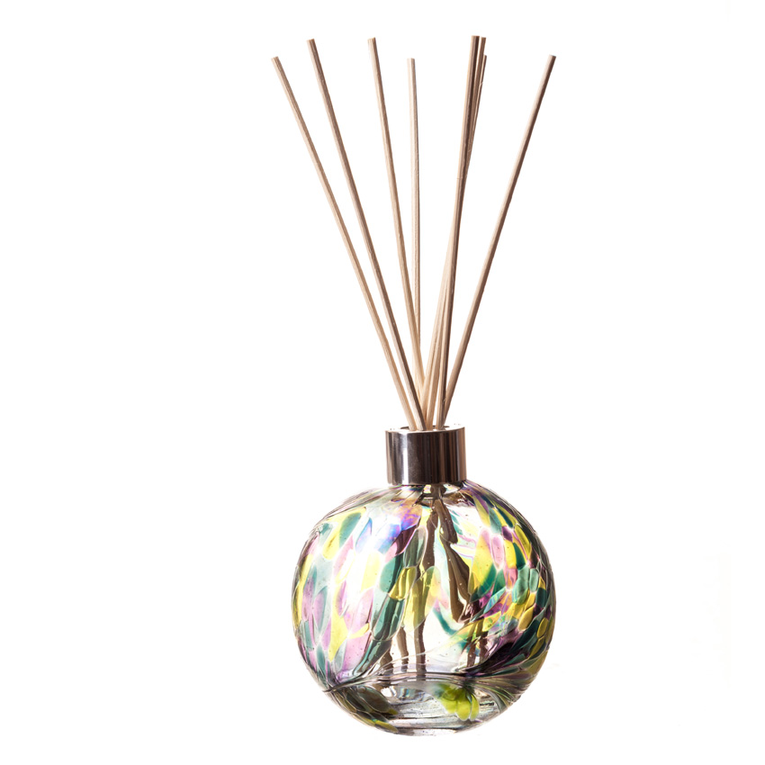 Reed Diffusers In Hand Blown Glass Designs Essential Oil